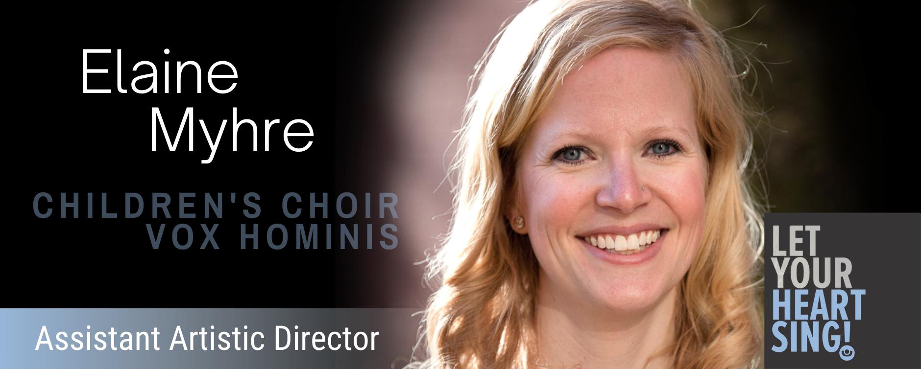 Elaine Mhyre - Assistant Artistic Director