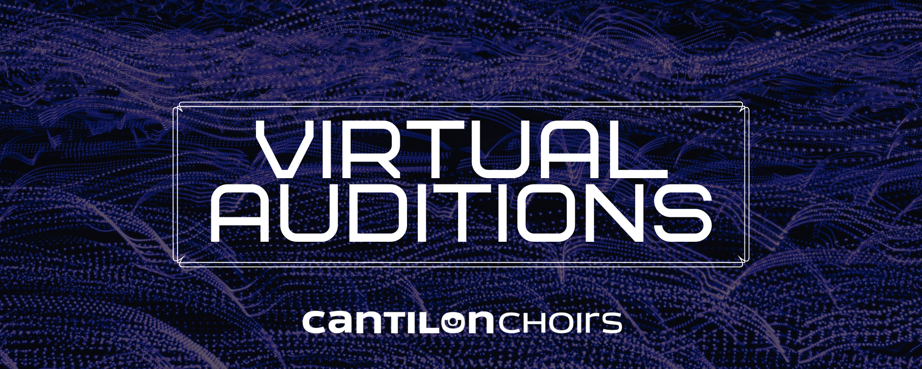 Register for a virtual audition